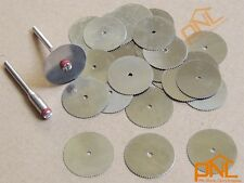30pc 22mm Circular Saw Blades Wood Cutter Dremel accessory for Rotary Tools