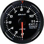 Defi Racer Gauge 52mm Exhaust Temperature Meter DF06806 White