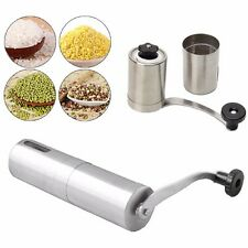 Stainless Steel Manual Coffee Grinder Mill Bean Hand Grinding Kitchen Tool