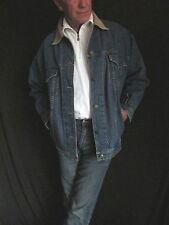CW Clifford & Willis Blue Denim Jean Jacket Corduroy Men's Small, Women's S  J35