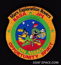 MARS Exploration ROVERS DELTA II Marvin Martian Duck Dodger NASA JPL SPACE PATCH