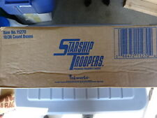 SEALED CASE OF STARSHIP TROOPERS MOVIE TRADING CARD BOXES! INKWORKS! 10 BOXES!