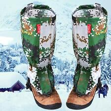 Waterproof Walking Hunting Hiking Snake Snow Legging Gaiters Army Boot Covers