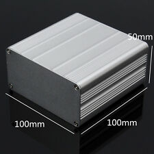 Aluminum PCB Instrument Box Enclosure Electronic Project Case DIY - 100*100*50mm