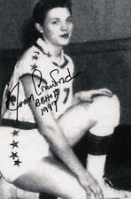 Joan Crawford Basketball Player Hall of Fame 1997 SIGNED 4x6 AUTOGRAPHED