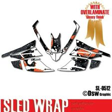SLED GRAPHIC KIT DECAL WRAP FOR ARCTIC CAT Z1 F8 F6 F5 F SERIES 2007-2012 SL0512