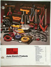 1986 Keystone Cable Auto Electric Products Cable Corporation Accessories Catalog