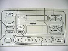 Ford-el tráfico 2000/3000 & 4000-Libro de Audio de Instrucciones Manual De Funcionamiento De Radio
