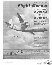 Douglas C-133 Cargomaster 1960's rare detailed manual archive period detail