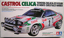 Tamiya 1/24 Castrol Celica '93 Monte Carlo Rally Winner model kit 24125