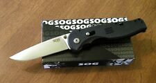 SOG New Assisted Opening Flash II Plain Edge Blade Knife/Knives