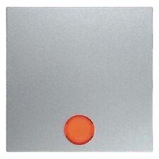 Kontrollwippe m. Linsen BERKER 16211404 Modell S1 Aluminium matt