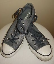 Converse All Star Admiral Casual Sneaker Shoe Gray Wash Women's Size 4 545025F