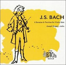 BACH / SZIGETI-Bach:  Solo Violin Sonatas And CD NEW