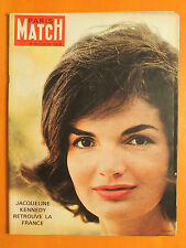 Jacqueline Kennedy retrouve la France-A. Malraux-Paris-Match N° 634 du 3/6/1961