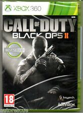 "Call of duty black ops ii (2) XBOX ""new & sealed' * XBOX 360 *"