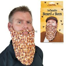 Inflatable Beard of Bees Costume Fake Beard!
