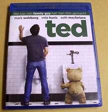 Blu-Ray Disc - Ted - Seth MacFarlane - Mark Wahlberg - Mila Kunis - Blue Ray