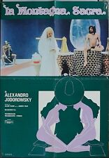 SOGGETTONE 2, LA MONTAGNA SACRA The Holy Mountain JODOROWSKY, POSTER AFFICHE