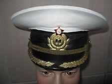 CCCP Casquette d'OFFICIER Marine Navale Soviétique URSS T.54 USSR