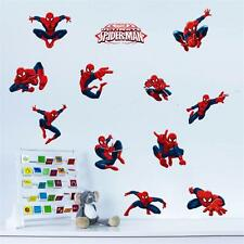 3D Spider man kids room decor Wall sticker boy bedroom decor gift wall decals
