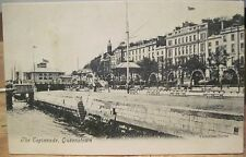 Irish Postcard Cobh QUEENSTOWN Esplanade Royal Yacht Club Ireland Valentine Ser