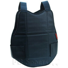Tippmann Black Paintball padded Chest Protector padding with velcro adjustment