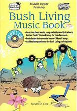 Bush Living Music Book, By Susan D. Cox, Book and CD, NEW