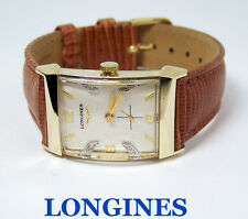 Vintage 14k LONGINES Winding Watch c.1940s Cal. 9LT Diam Markers EXLNT* SERVICED