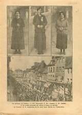 Guérisons & Miracles Lourdes sainte Thérèse de l'Enfant-Jésus 1925 ILLUSTRATION