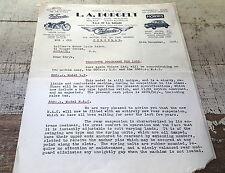 1953 VELOCETTE MAC & LE Australian Dealer Letter New Models