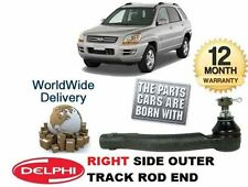 FOR KIA SPORTAGE 2005-2010 2.0i 2.0TD 2.7 NEW RIGHT SIDE OUTER TIE TRACK ROD END