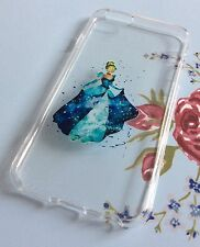 iPhone 6 6s Mobile Phone Soft Silicon Gel Case Cinderella Disney Xmas Cute
