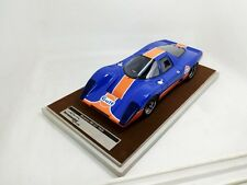 1969 Mclaren M6 GT Gulf Edition in 1:18 Scale by Tecnomodel