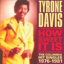 Tyrone Davis - How Sweet It Is- Hit Singles 1976-1981- New Factory Sealed CD