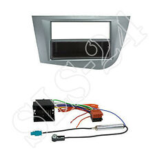 Autoradio Einbauset Seat Leon 1P/1PN Radioblende Anschlusskabel Antennenadapter