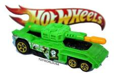 2011 Attack Pack Hot Wheels Invader exclusive