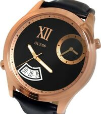 GUESS MEN'S COLLECTION ROSE GOLD V.I.P BIG EDITION WATCH U0260G2
