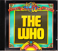 CD the WHO Sell out SPANISH club del libro 1993 mod