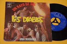 """LOS DIABLOS 7"""" 45 UN RAYO DE SOL 1°ST ORIG ESPANA BEAT 1970 EX ! SPAIN SPAGNA"""