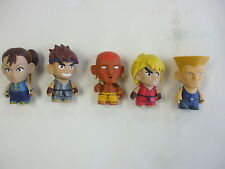 Kid Robot Street Fighter Figure 5pc Lot Loose (Lot2)