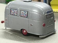 1/64 GREENLIGHT GRAY 16' AIRSTREAM BAMBI CAMPING TRAILER