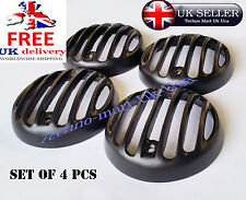 ROYAL ENFIELD MOTORBIKE CLASSIC FRONT AND REAR PROTECTIVE INDICATOR GRILL BLACK