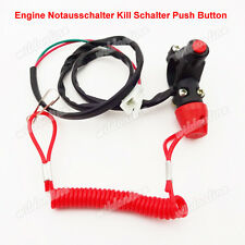 Tether Safety Engine Notausschalter Kill Schalter Push Button für Mini Pocket