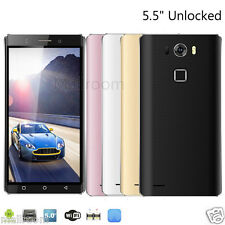 5,5 Zoll Dual SIM Handy Ohne Vertrag Smartphone 4GB Quad Core Android5.1 3G WIFI