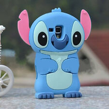 Lilo Stitch 3D Soft Silicone Case Cover Skin For Samsung Galaxy S3 Mini i8190