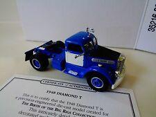 "1998 -MATCHBOX BIG RIG REPLICA -  1948 DIAMOND T CAB-  4 3/8"" LONG- 1:50 NIP"