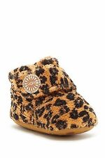 UGG Australia Girls Infant Unisex Baby Crib Slip On Terry Ankle Boots Booties
