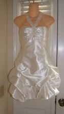 New Betsy & Adam Prom Party Cocktail Evening Formal Wedding Dress Sz 10 $189