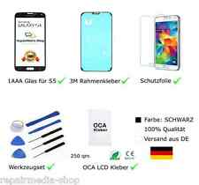 SAMSUNG GALAXY S5 DISPLAY TOUCHSCREEN ERSATZ GLAS FÜR S5 1AAA ✔ DE ✔ DHL ✔ TOP✔